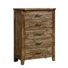 See Details - Nelson 5-Drawer Chest, Rustic Pine