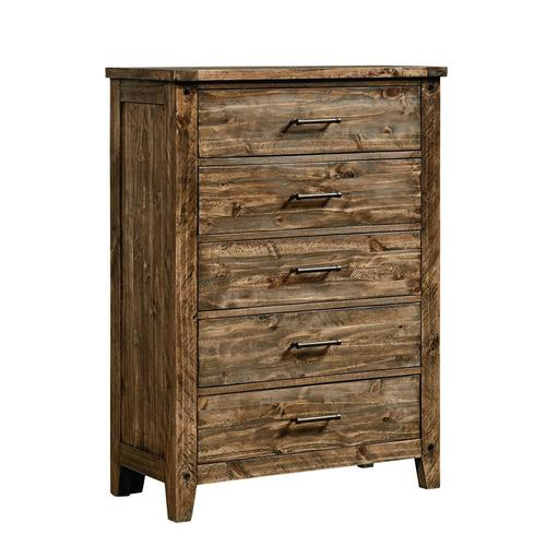 Nelson 5-Drawer Chest, Rustic Pine