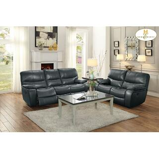 See Details - Pecos Double Reclining Sofa