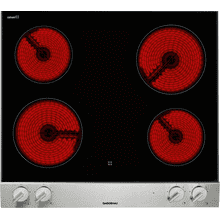 "200 series Vario 200 series electric cooktop Stainless steel control panel Width 15"" (38 cm)"