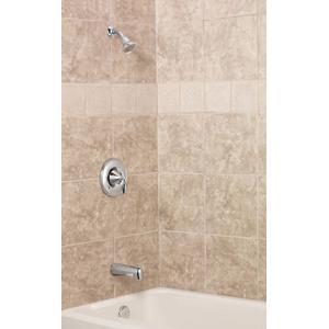 Eva brushed nickel posi-temp® tub/shower