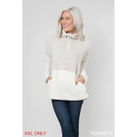 Fresh in Fleece Pullover Top - XXL (2 pc. ppk.)