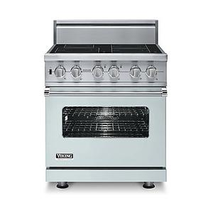 """Viking - 30"""" Custom Electric Induction Range, No Brass Accent"""