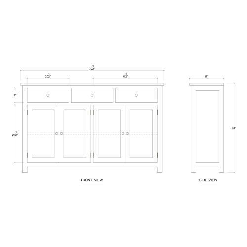Arial Sideboard