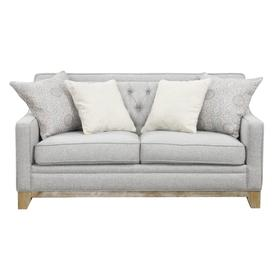 Jaizel Loveseat W/ 4 Pillows Grey