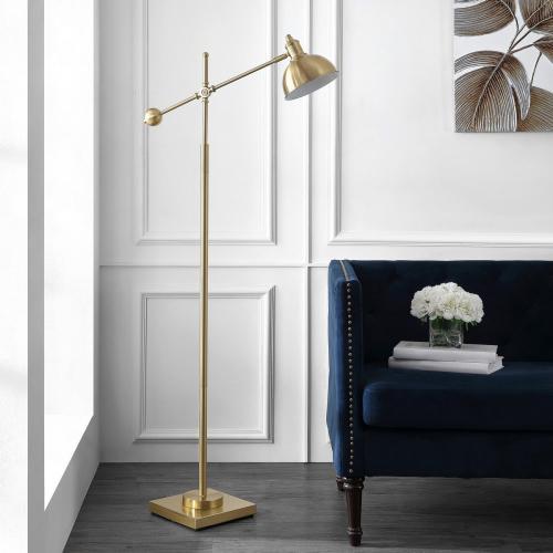 Dagen Floor Lamp - Brass Gold
