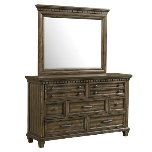 Product Image - McCabe 7-Drawer Dresser with Mirror Set