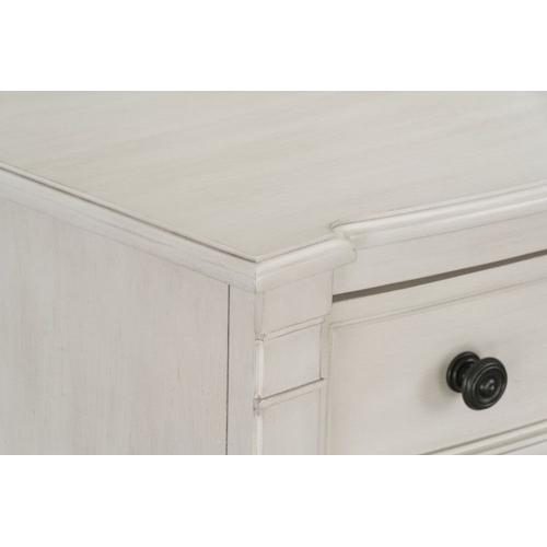 Mallory White Chest of Drawers