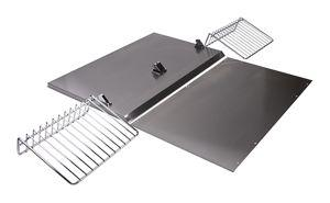 """Backguard with Shelf - 30"""" Stainless Steel Photo #1"""
