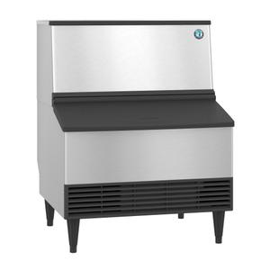 HoshizakiKM-301BWJ, Crescent Cuber Icemaker, Water-cooled, Built in Storage Bin