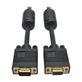 VGA High-Resolution RGB Coaxial Cable (HD15 M/F)), 3 ft. (0.91 m)