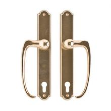 "View Product - Ellis Entry Sliding Door Set- 1 3/4"" x 11"" Silicon Bronze Light"