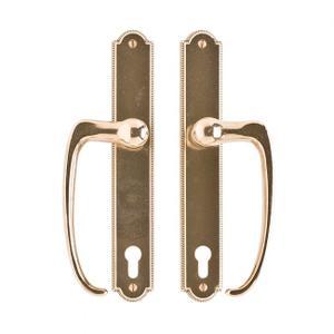 """Ellis Entry Sliding Door Set- 1 3/4"""" x 11"""" Silicon Bronze Brushed Product Image"""