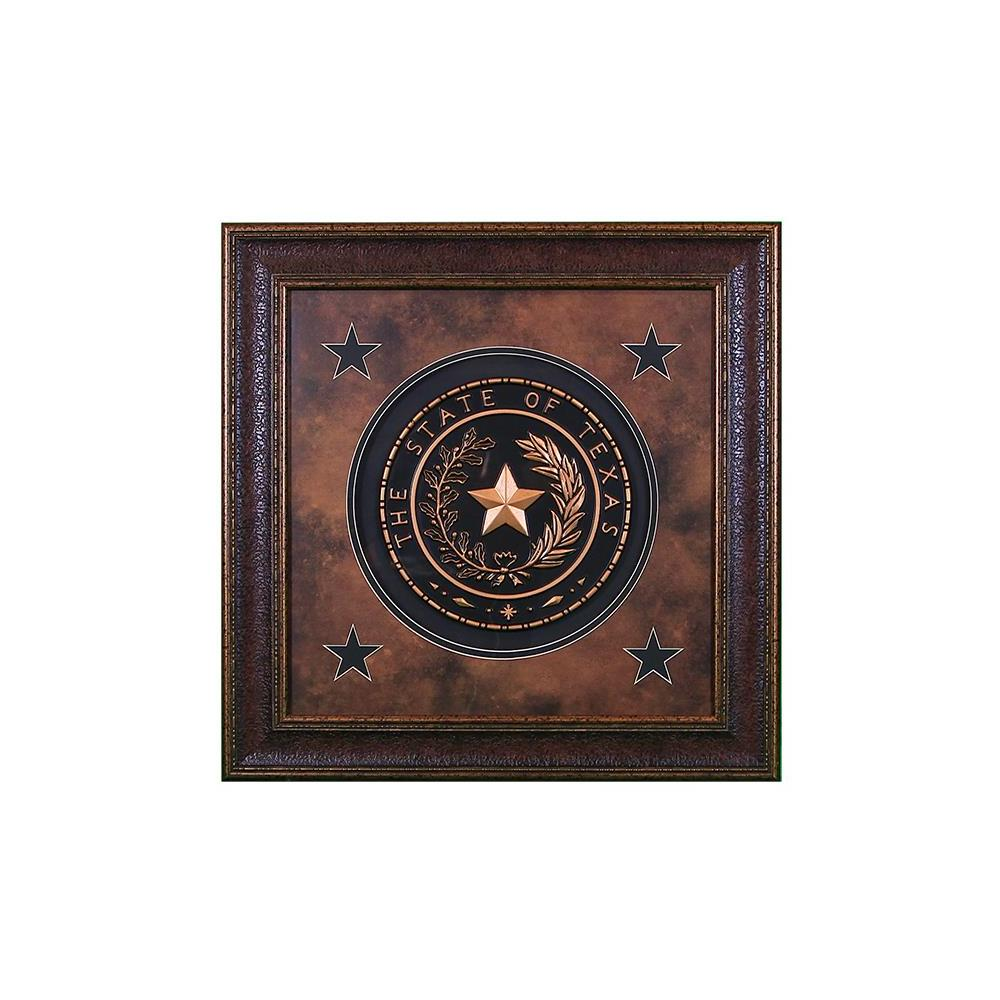 Texas Seal Medium Shadow Box
