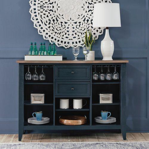 Liberty Furniture Industries - Server- Navy