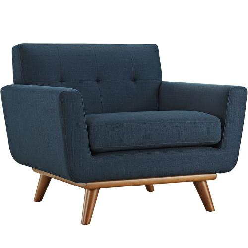 Engage 5 Piece Sectional Sofa in Azure
