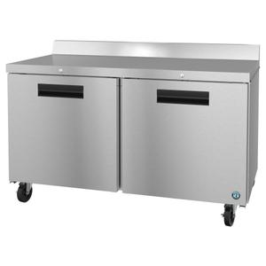 HoshizakiWF60A-01, Freezer, Two Section Worktop, Stainless Doors with Lock