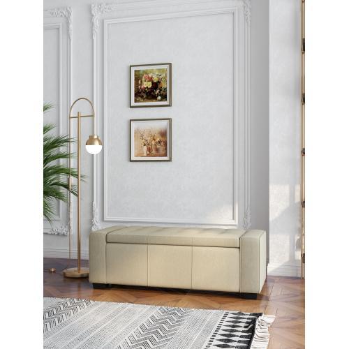 Emerald Home Gavyn U3310-36-09 Storage Bench - Beige