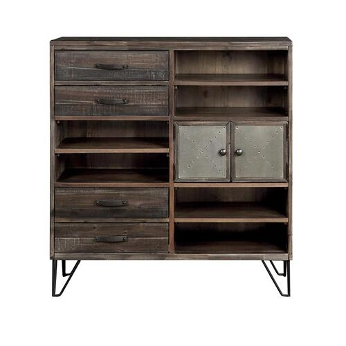 Gallery - 4 Drw 2 Dr Bookcase