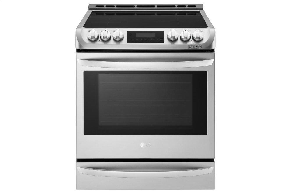 6.3 cu. ft. Smart wi-fi Enabled Induction Slide-in Range with ProBake Convection® and EasyClean® Photo #1