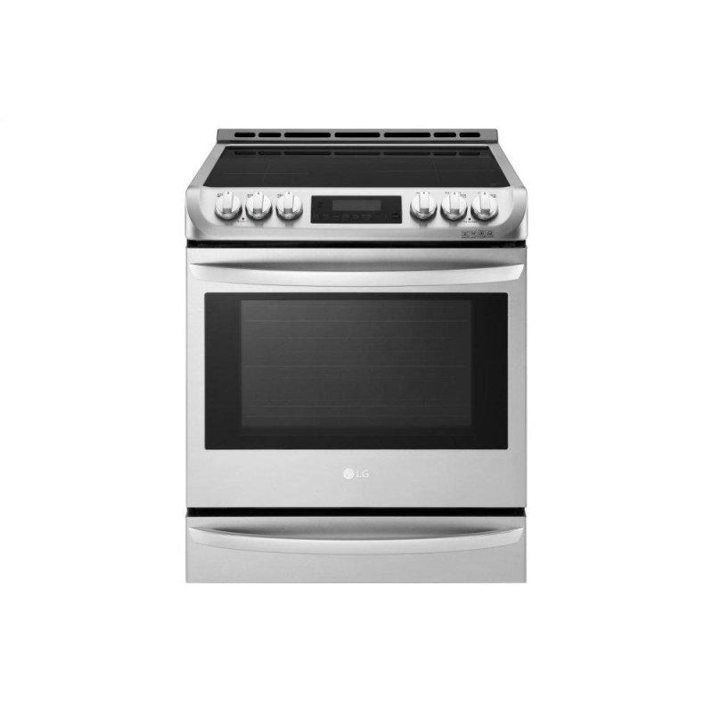 6.3 cu. ft. Smart wi-fi Enabled Induction Slide-in Range with ProBake Convection(R) and EasyClean(R)