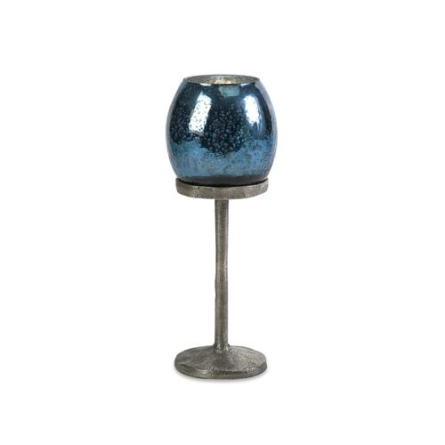 Ocean Blue Medium Candlestick Votive