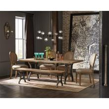 Revival - Rectangular Dining Table - Spanish Grey Finish