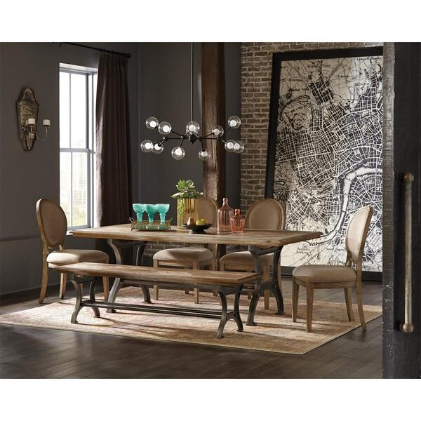 Revival - Rectangular Dining Table - Spanish Grey Finish