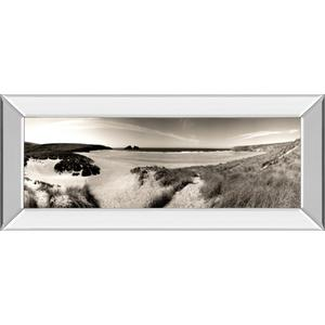 """""""The Wind In The Dunes Il"""" By Noah Bay Mirror Framed Print Wall Art"""
