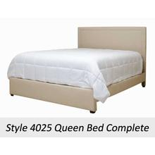 Graham Cream 4025QHB - 4025 Queen Headboard