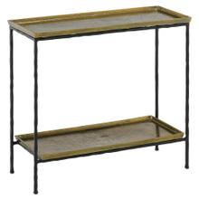 See Details - Boyles Brass Side Table