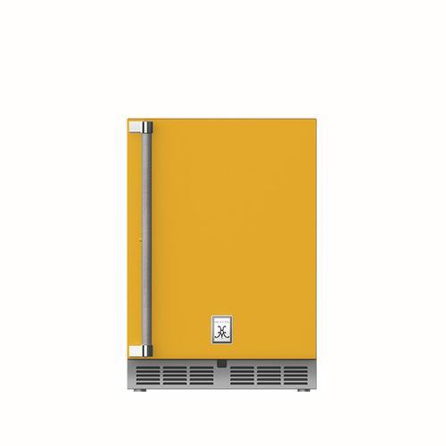 """Hestan - 24"""" Hestan Outdoor Undercounter Refrigerator (Solid Door) - GRSR Series - Sol"""