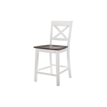 See Details - 5057 A La Carte White 2-Pack Counter Height Barstools