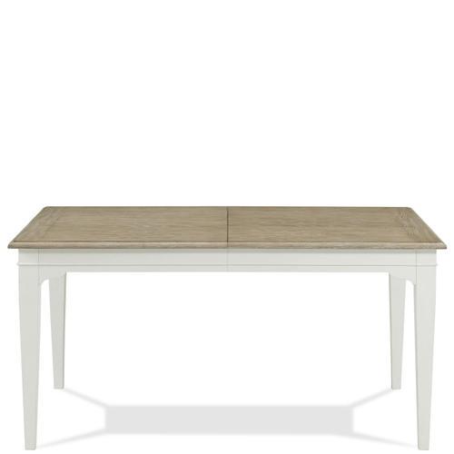 Myra - Rectangular Leg Dining Table - Natural/paperwhite Finish