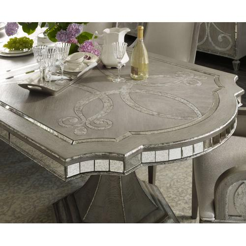 Sanctuary Rectangle Dining Table w/2-20in leaves