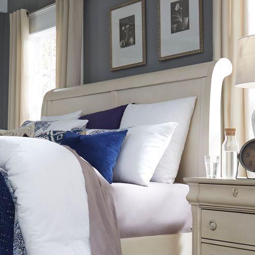 Liberty Furniture Industries - Queen Sleigh Headboard