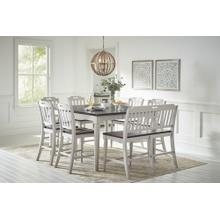 View Product - Orchard Park Counter Height Table With 4 Stools and Bench
