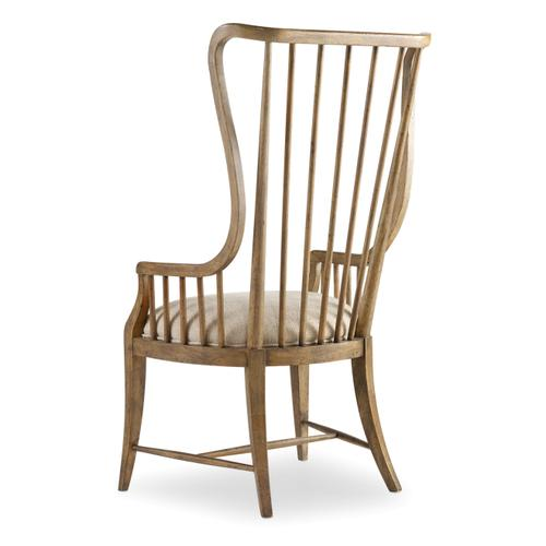 Sanctuary Tall Spindle Arm Chair - 2 per carton/price ea