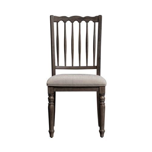 Spindle Back Upholstered Side Chair (RTA)