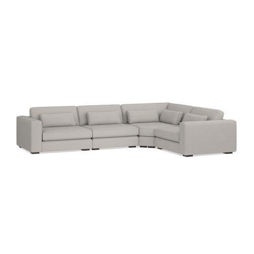 Bassett Furniture - Moby 4 Piece L-Shaped Sectional