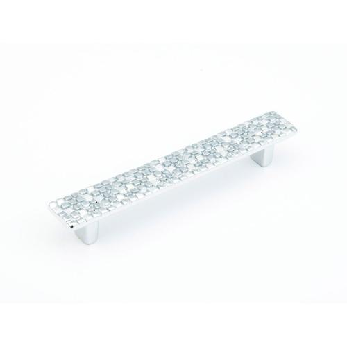 Mosaic, Pull, 128 mm cc, Polished Chrome finish
