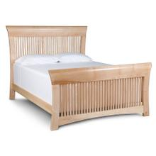 Loft Slat Bed, California King