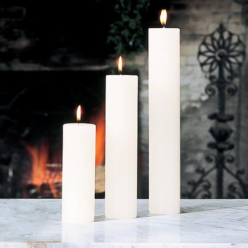 Pillar Candle-Unscented-2 x12