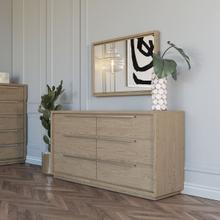 Modrest Samson - Contemporary Grey and Silver Dresser