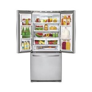 "Large Capacity 3 Door French Door Refrigerator (Fits a 30"" Opening)  (This is a Stock Photo, actual unit (s) appearance may contain cosmetic blemishes.  Please call store if you would like actual pictures).  This unit carries our 6 month warranty, MANUFACTURER WARRANTY and REBATE NOT VALID with this item. ISI 39535"