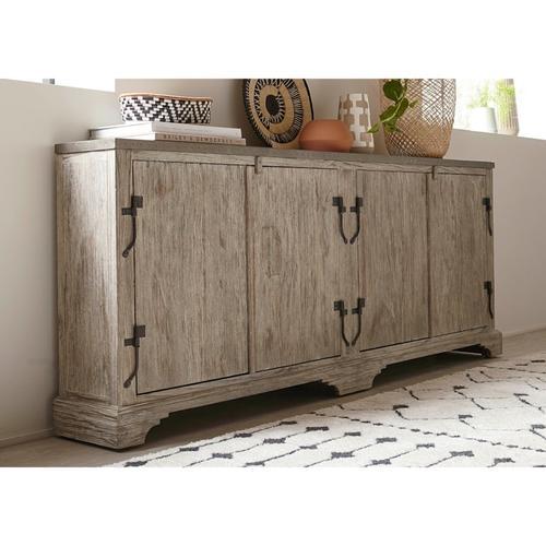 "Bassett Furniture - Antiquities 75"" Boatmaker's Cabinet"