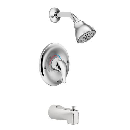 L2353 In Chrome By Moen In Raleigh Nc Chateau Chrome Posi Temp Tub Shower