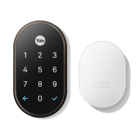 Nest X Yale Lock With Nest Connect Oil Rubbed Bronze