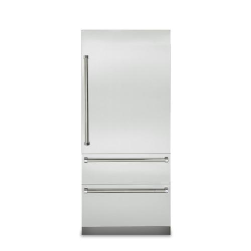 "36"" Fully Integrated Bottom-Freezer Refrigerator - VBI7360W Viking 7 Series"
