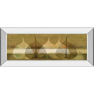 """Less Is More III"" By Patricia Pinto Mirror Framed Print Wall Art"